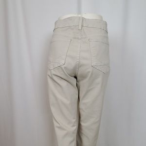 NYDJ Jeans - NYDJ Tan Denim Twill Straight Leg Jeans